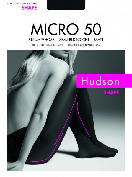Hudson Micro 50 Light Shape - Blickdichte, matte Strumpfhose leicht figurformend