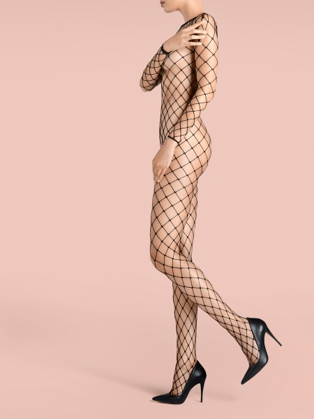 KUNERT de Luxe Claudia Schiffer Legs - Netz-Bodysuit