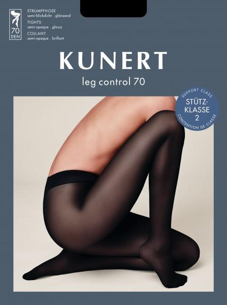 Kunert Glatte glänzende Stützstrumpfhose Leg Control 70