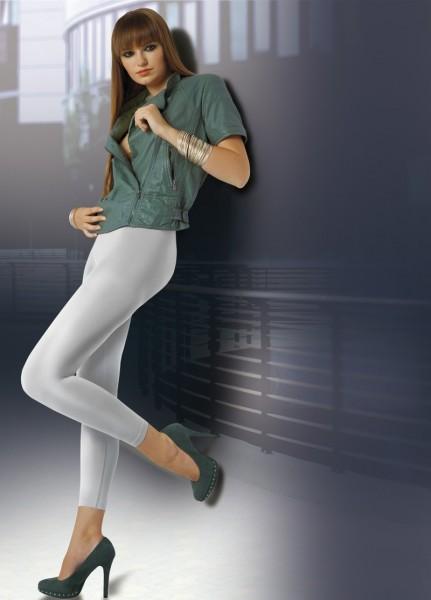 Annes Styling Elegante blickdichte Leggings mit nahtlosem H